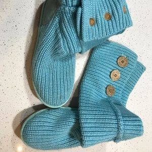 Ugg Classic Cardy Winter Boot Light Blue
